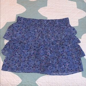 GAP tiered ruffle skirt
